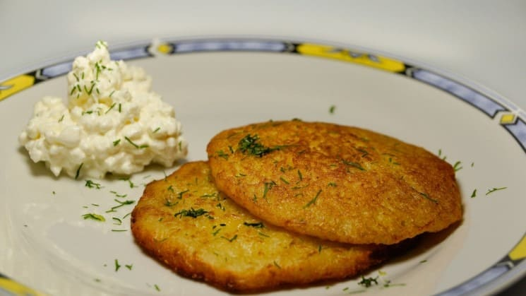 Authentic Czech Bramboráky Recipe - Delicious Potatoe Pancakes